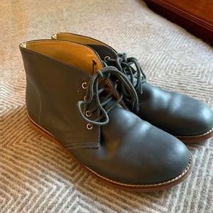 Boys leather Land's End boots